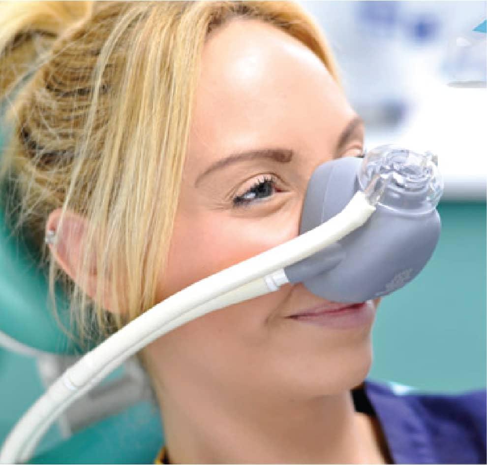 2.Inhaled Minimal Sedation:
